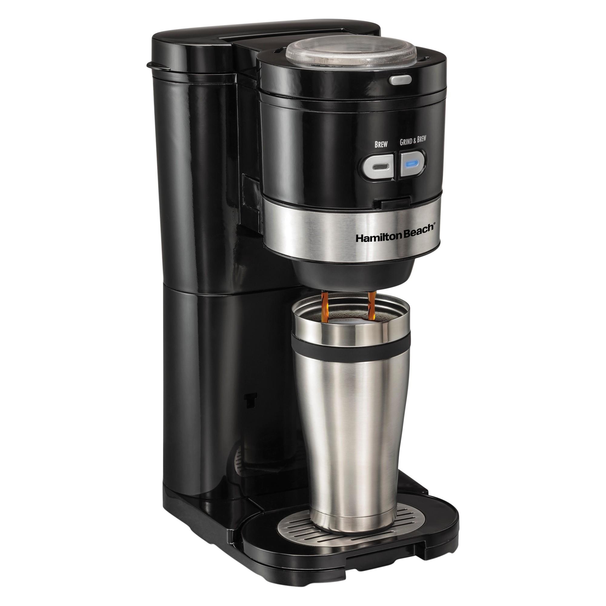 Hamilton Beach Grind and Brew SingleServe Coffee Maker