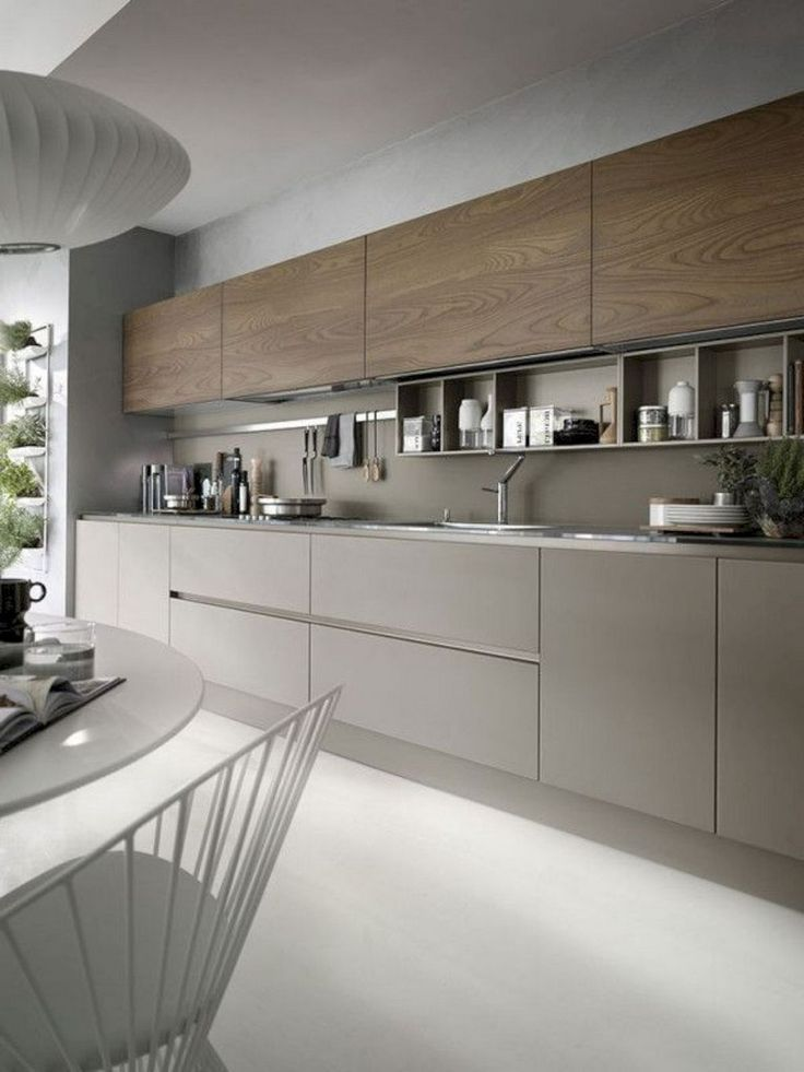57 Amazing Contemporary Kitchen Cabinets Remodel Ideas # Temporary Kitchen #Cabinet … - jemfri.christmas-drinks77.tk