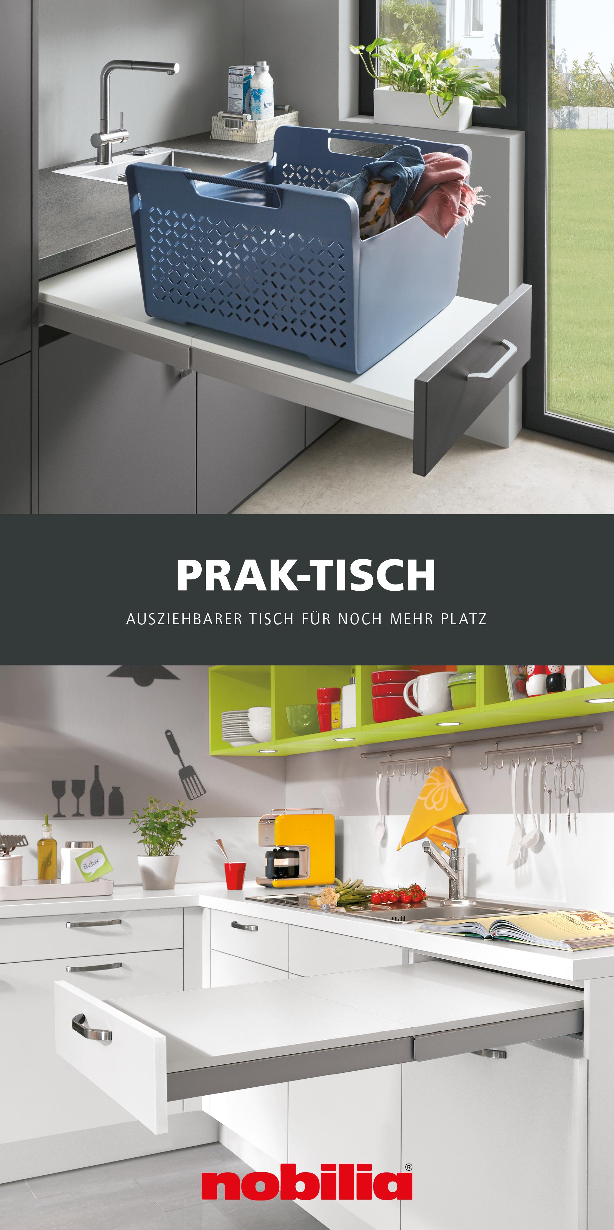 Flexible Ablagefläche für die Küche in 17  Schrank küche, Küche