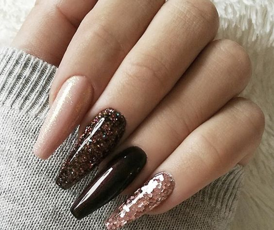 The Acrylic Coffin Nail Designs Ideas are so perfect for ...