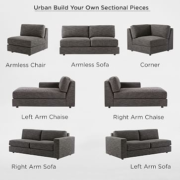 Superb Build Your Own Urban Sectional Pieces Va Home Sofa Pabps2019 Chair Design Images Pabps2019Com