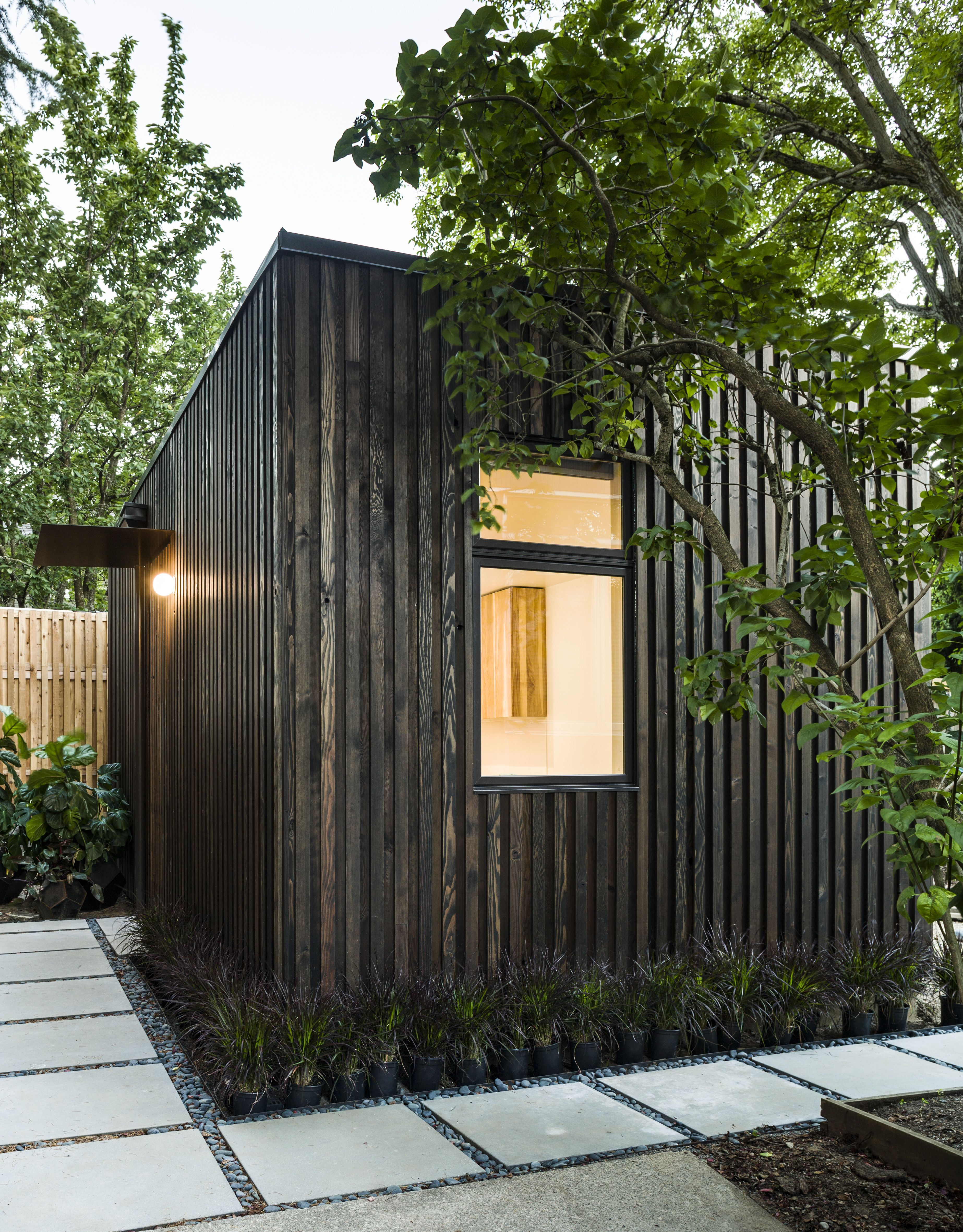 Gratis Tuin Makeover This Fir Clad Ground Up Accessory Dwelling Unit Adu Meets The
