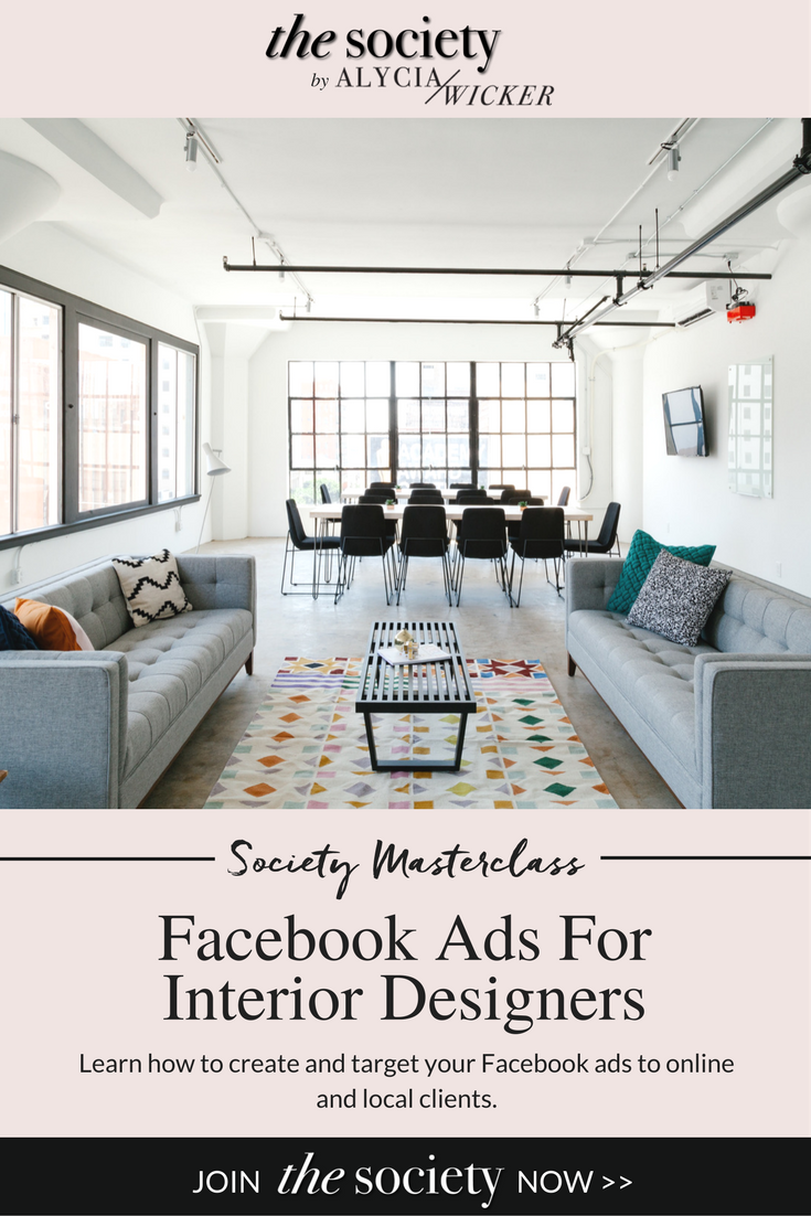 Facebook Ads Interior Design Business Interior Decorating Business