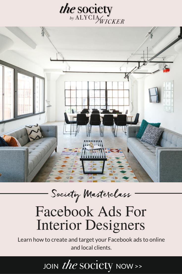 Facebook Ads Interior Design Business Interior Decorating