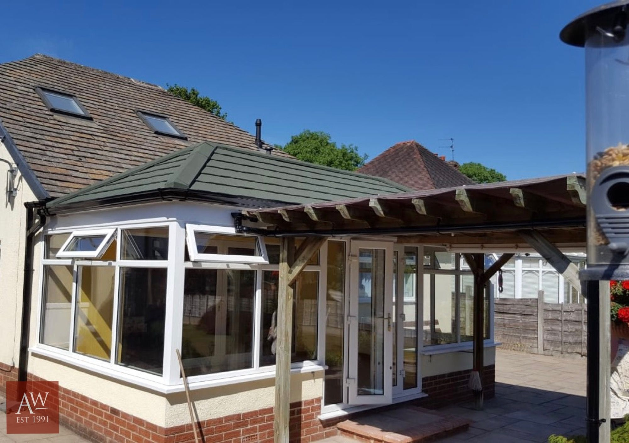 Guardian Roofs In Stockport Alexander Windows Warm Roof Tiled Conservatory Roof Conservatory Roof