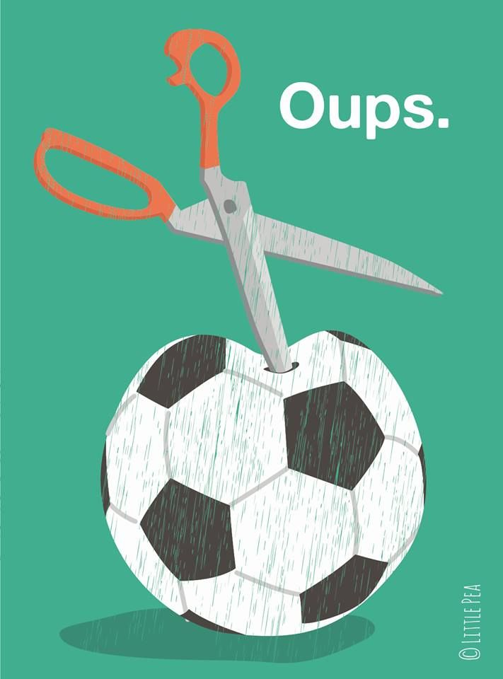 Ou le désamour du ballon rond  https://www.facebook.com/littlepeaaa