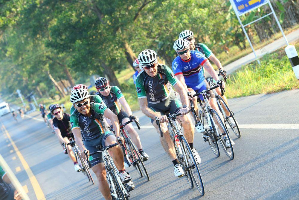 Bangkok to phuket road cycling tour with spiceroads