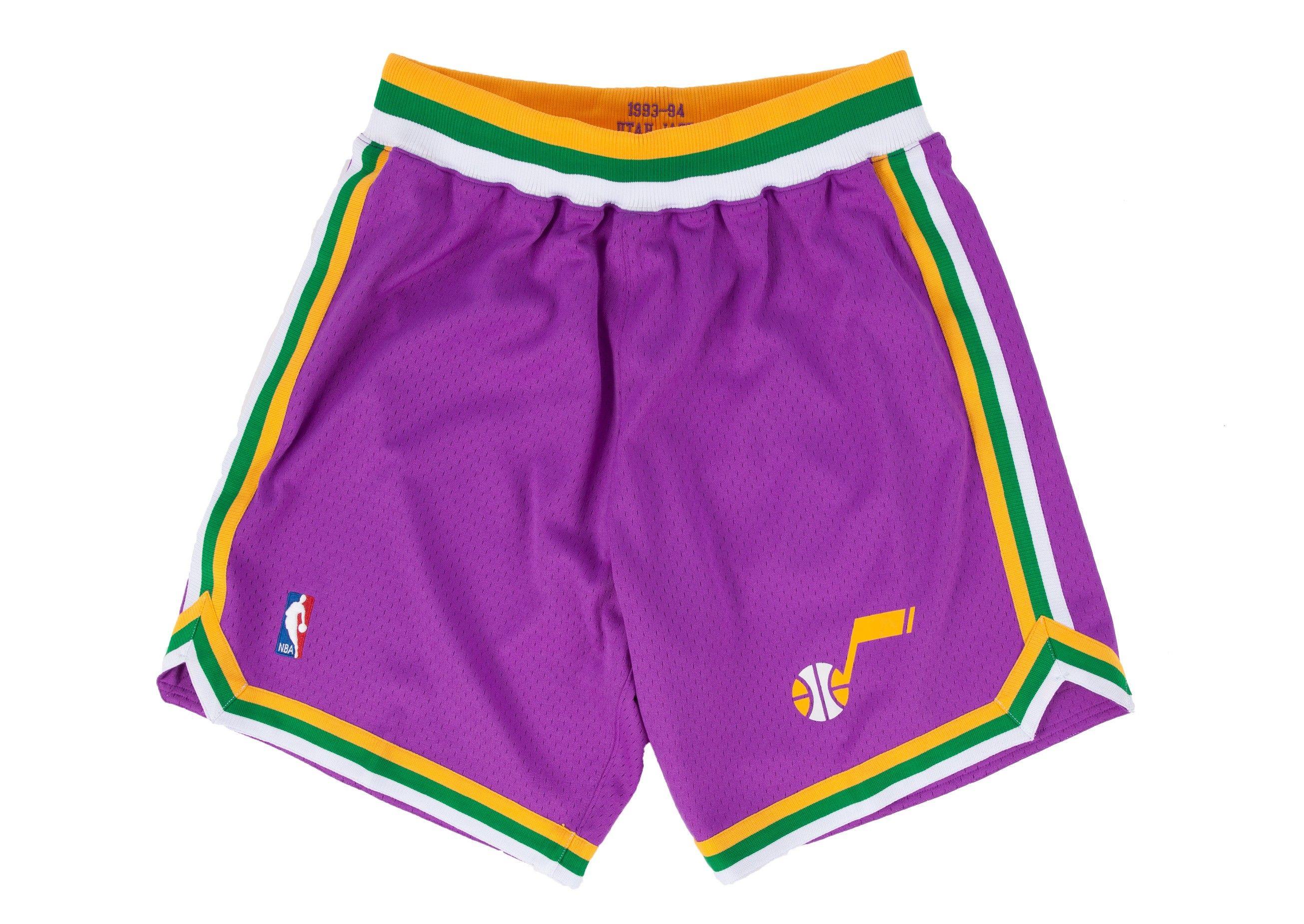 1993-94 Authentic Shorts Utah Jazz  42ca4cce3