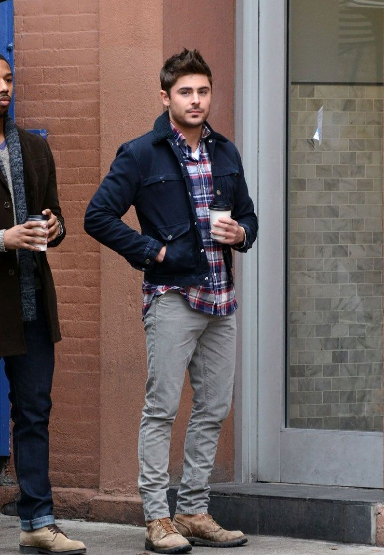 Zac Efron Like, Comment, Repin !!--- yea, don't care; just like the outfit.