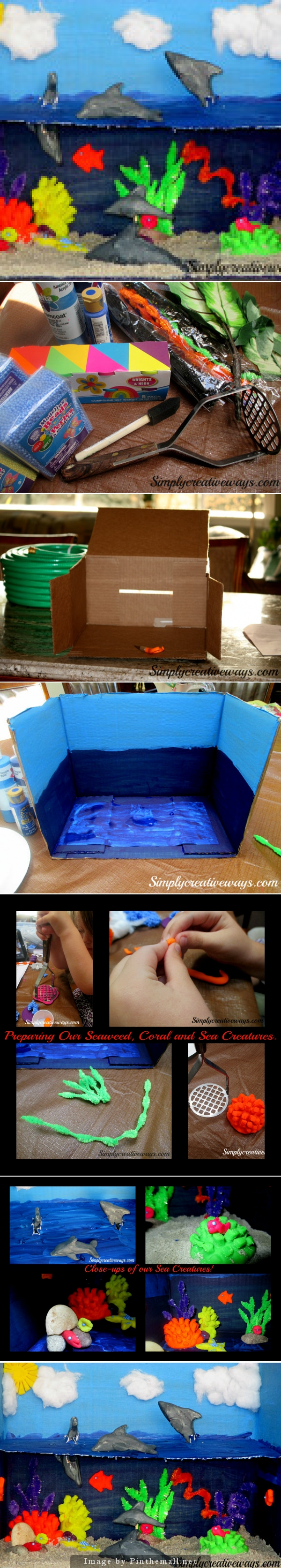 Kids Diorama With Details: Pin By D B On Stuff To Do With Kids Inside