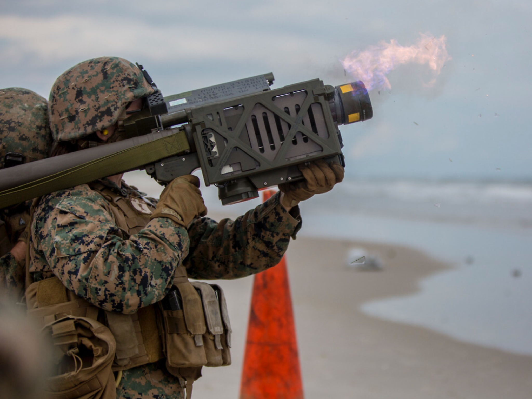 Marines With Marine Corps Special Operations Command Marsoc And 2nd Low Altitude Air Defense Battalion Fire Training Camp Lejeune Special Operations Command