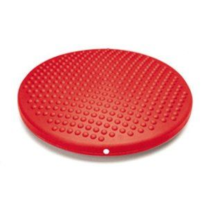 Inflated Stability Wobble Cushion with Pump, Extra Thick Core ...