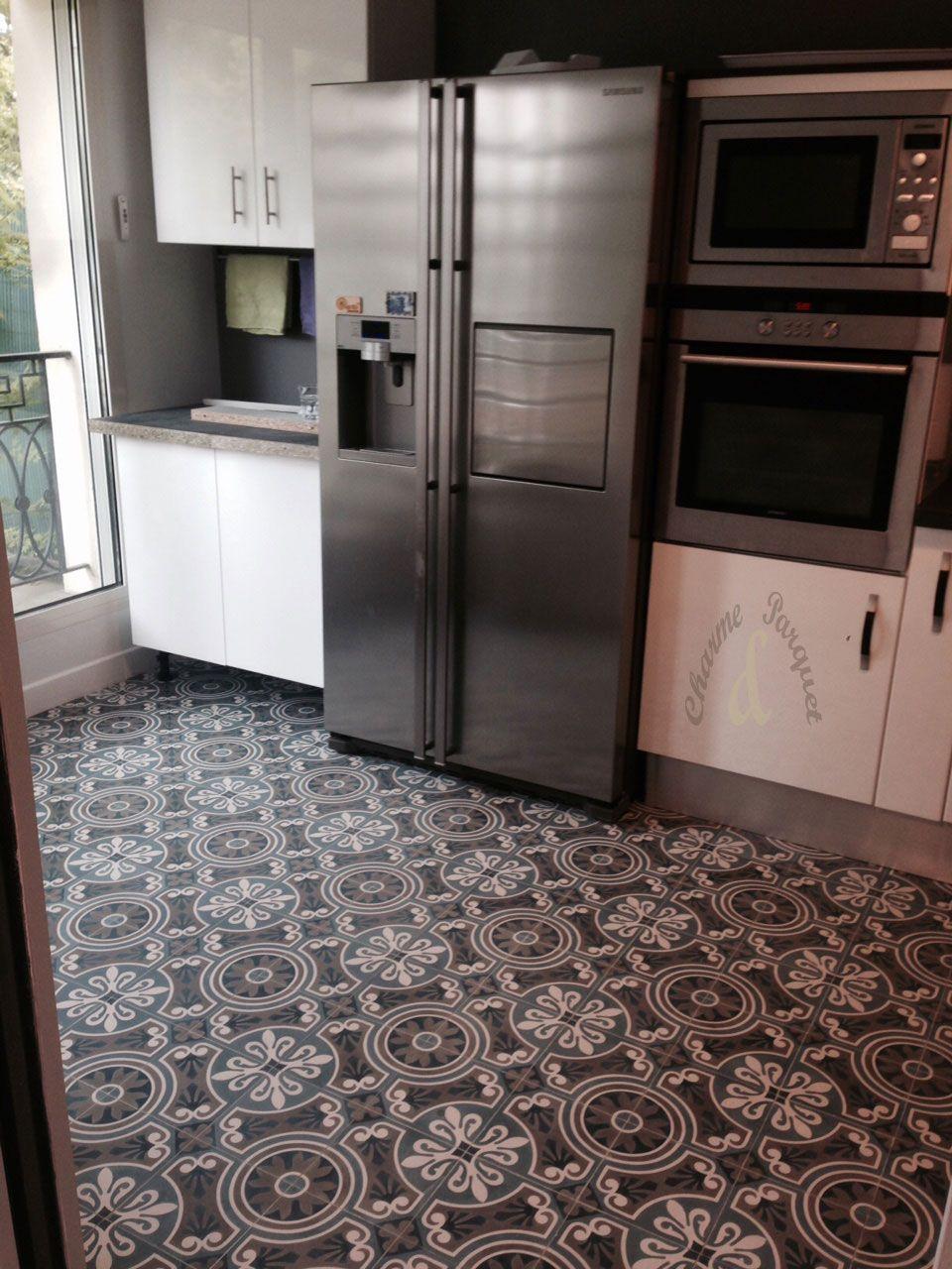Modèle Carreaux Pour Cuisine carreaux de ciment dans une cuisine (modèle ch 44-3