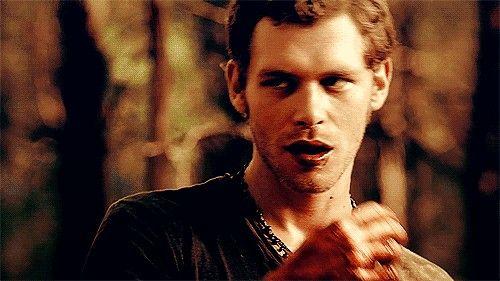 Klaus Mikaelson  Joseph Morgan  TEAM KLAUS! ✌