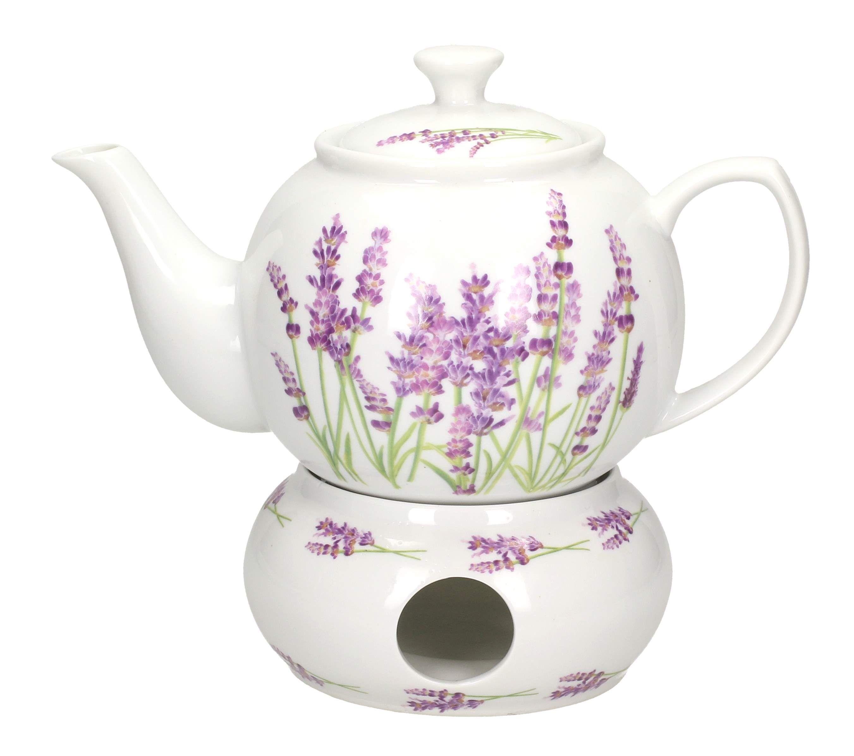 Dzbanek Porcelanowy Z Podgrzewaczem Affek Designe Lawenda 1 L Sklep Internetowy Tea Pots Tea Lavender