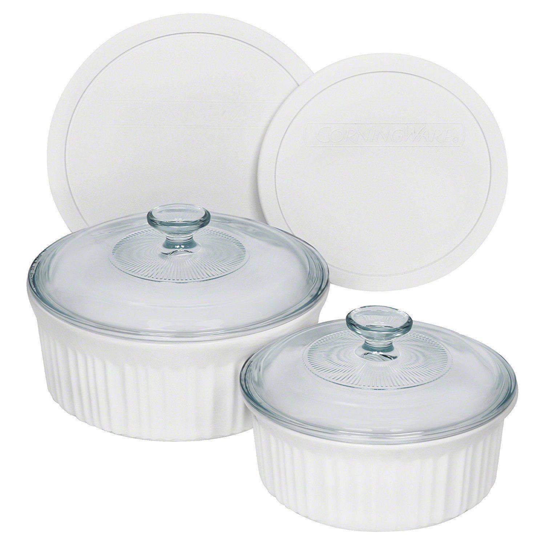 Corningware French White Bakeware Set Corningware French White White Bakeware