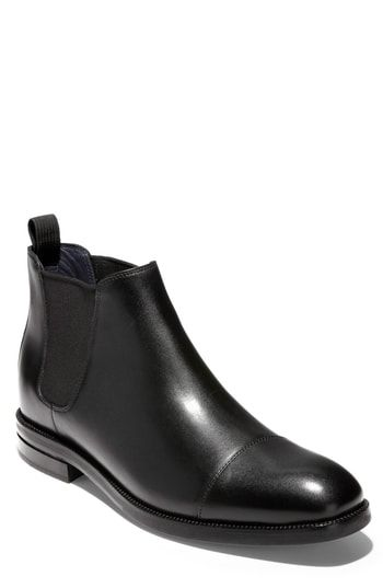 2600dcf6a78 COLE HAAN WAGNER GRAND CHELSEA BOOT. #colehaan #shoes | Cole Haan ...