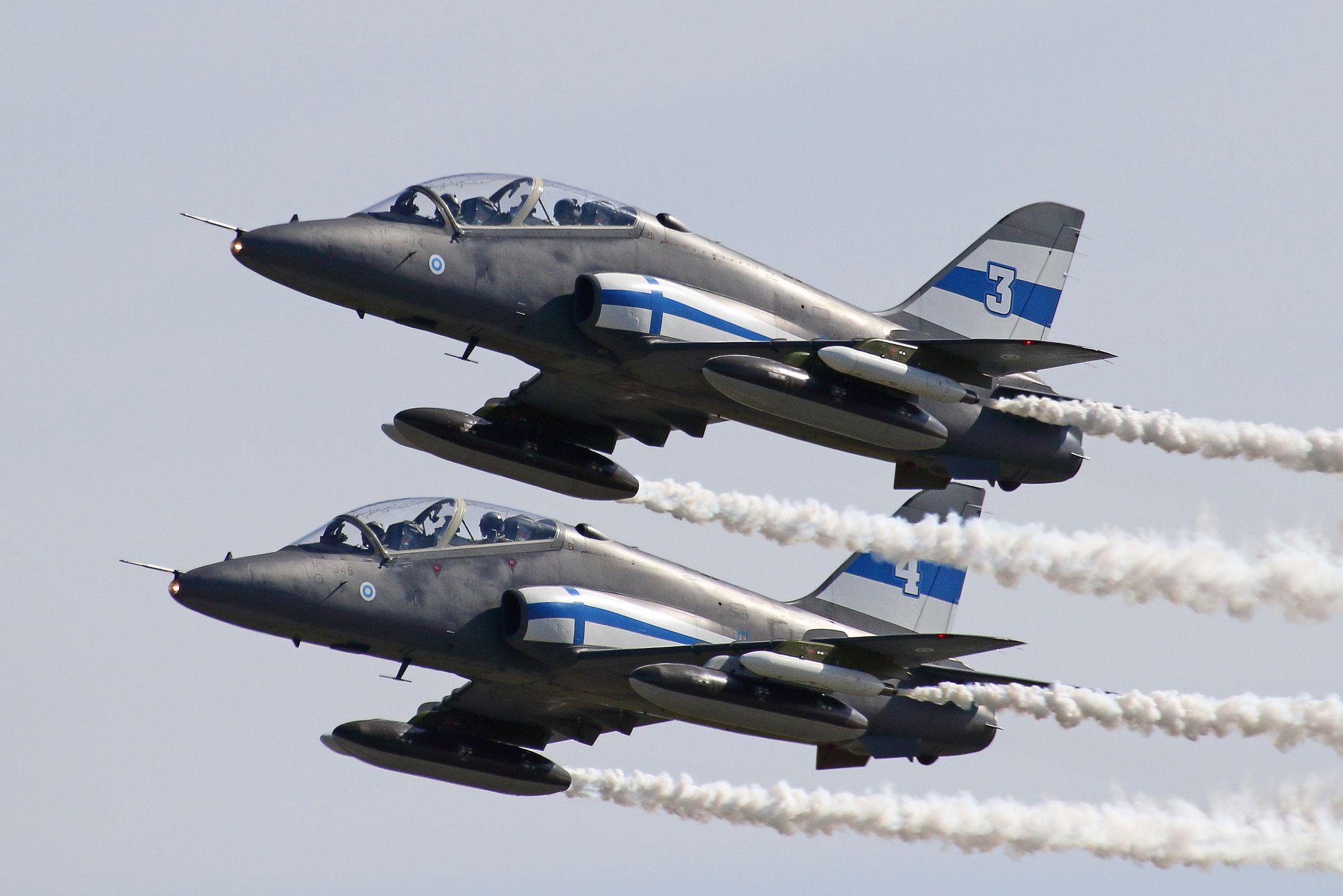 Midnight Hawks | Finnish air force, Air show, Air force