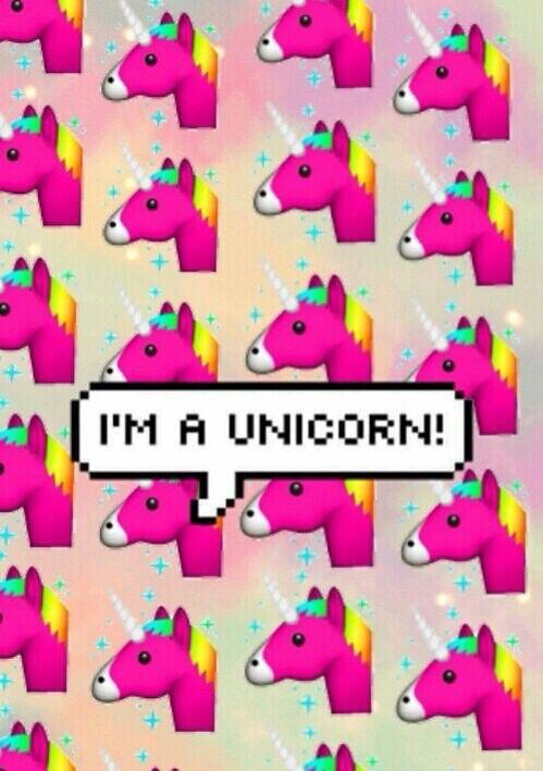 Je Suis Une Licorne Unicorn Emoji Wallpapers Unicorn Wallpaper Cute Wallpapers