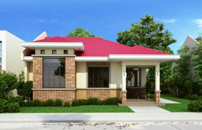 Tdh 2015002 One Storey Dream Home Design Pinoy Dream Home Source Simple House Design House Design Photos Porch House Plans