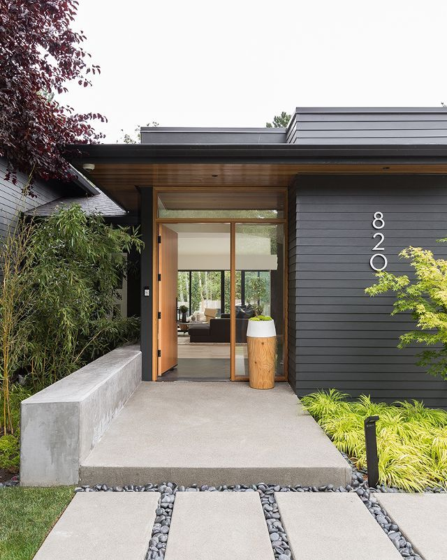 Tour A Modern Scandinavian Remodel Boasting Clean Lines And Streamlined Design Exterior House Colors Dream House Exterior House Exterior