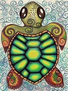 Baby Turtle Drawings Bing Images Turtle Drawing Turtle Art Sea Turtle Art