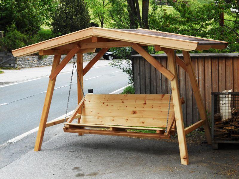 Gartenbank Mit Dach Überdachte   Holz Gartenbank   Furniture ...