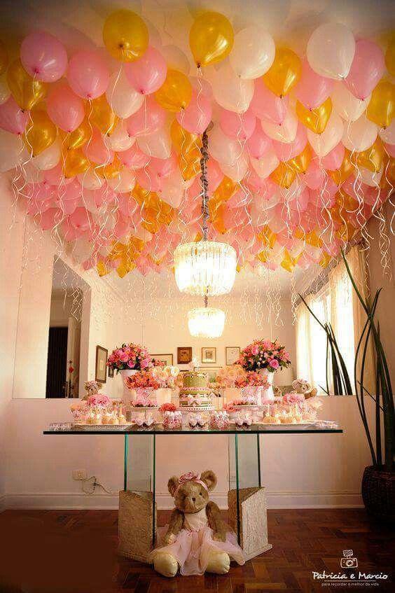 أفكار بالونات للحفل Decoracao Com Baloes Festas De Aniversario Criancas Decoracao Com Baloes Simples