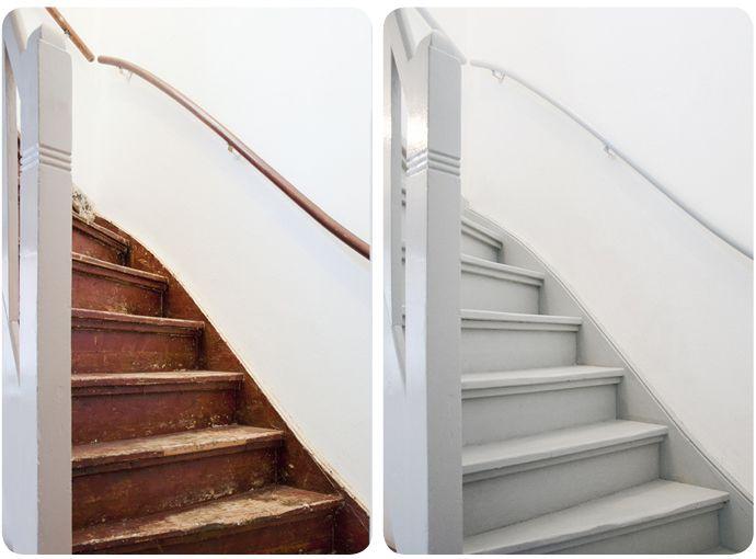 Trap Opknappen Ideeen : Home improvement trap opknappen huis trap ideeën trap
