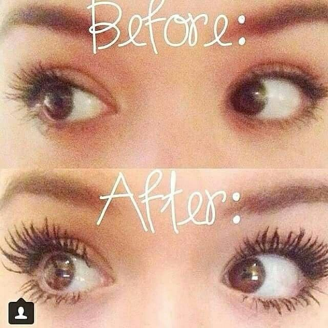 Does it really work? Yes! (: & you have 14 days to decide if you love it or send it back. #hypoallergenic, #waterresistent, safe for contacts and #sleeping in. Natural collegen nourishes natural lashes, while you wear it too!! Youniqueproducts.com/getfabulashedwithstephmeza