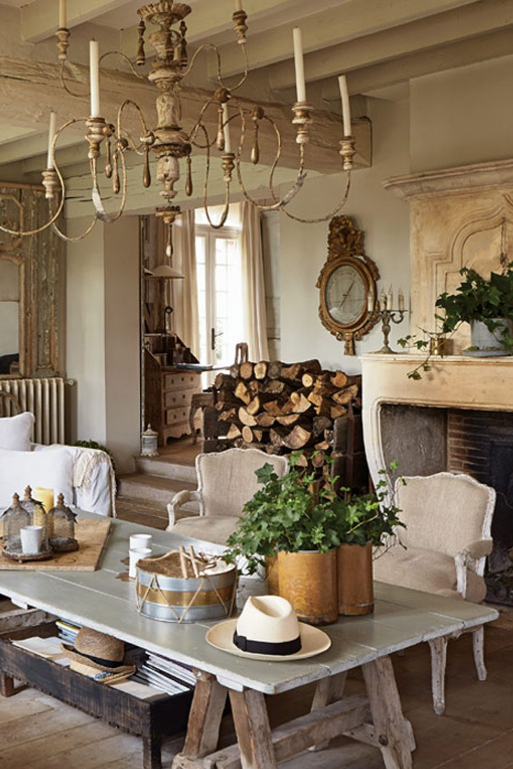 55 Amazing Rustic Farmhouse Style Kitchen Decorating Ideas Mesmerizing Country French Dining Room Set 2018