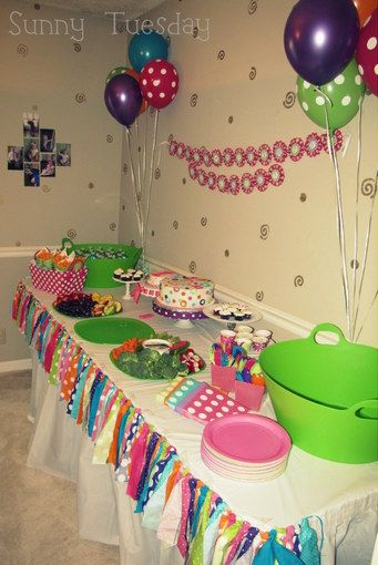 Polka Dot First Birthday Party Decorations Ladidadi We Likes To