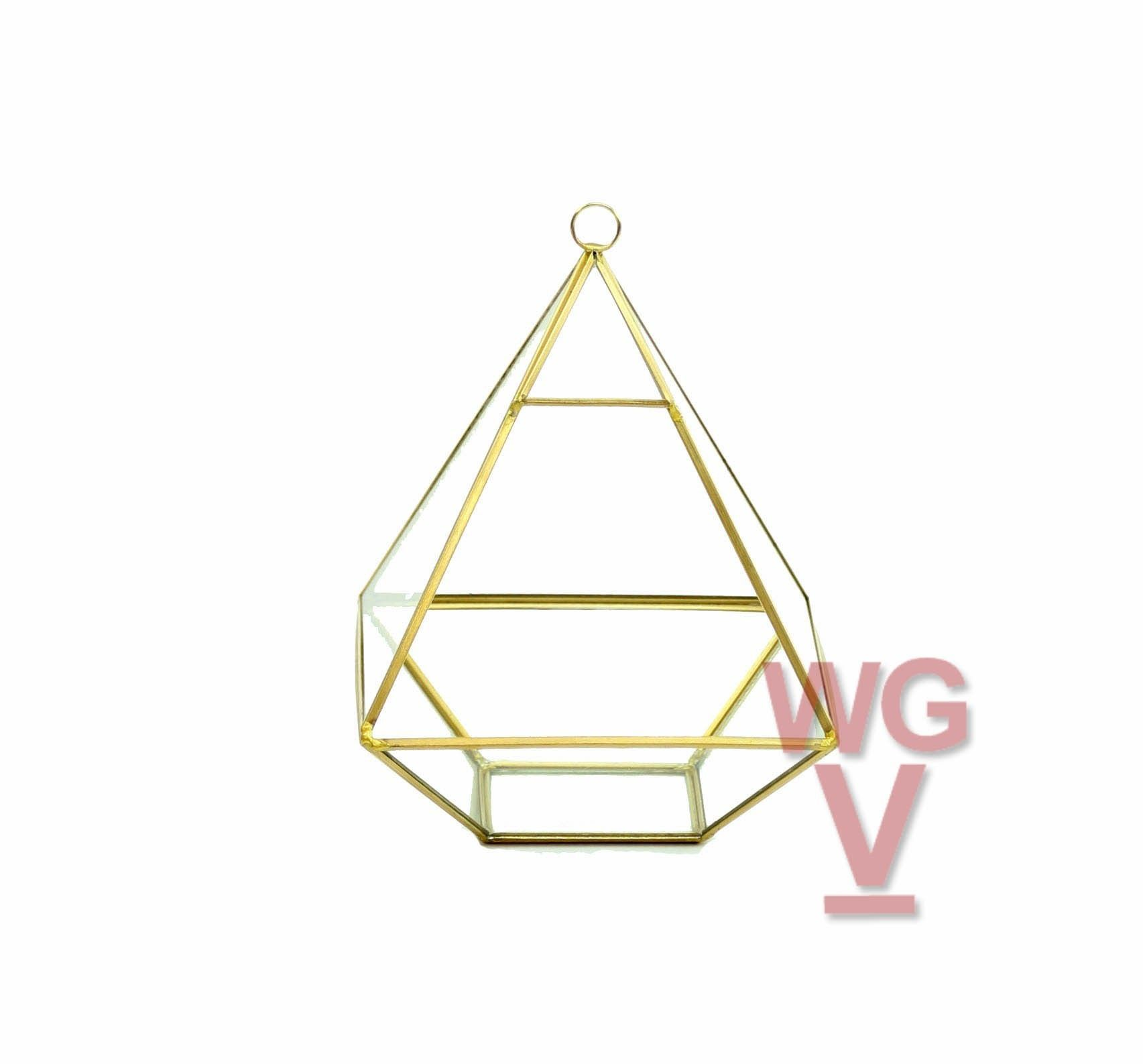 Nonahedron raised pyramid terrarium products pinterest