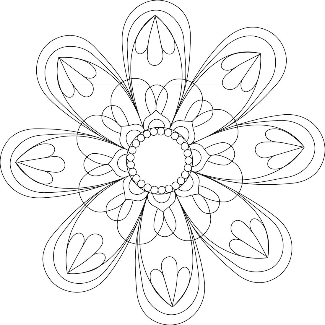 Dibujo de Paz y Amor para colorear | photoshop | Pinterest ...