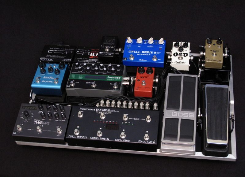View Single Post The Neatest Pedal Board Thread So Very Tgp V2 Guitar Pedals Guitar Pedal Boards Pedalboard