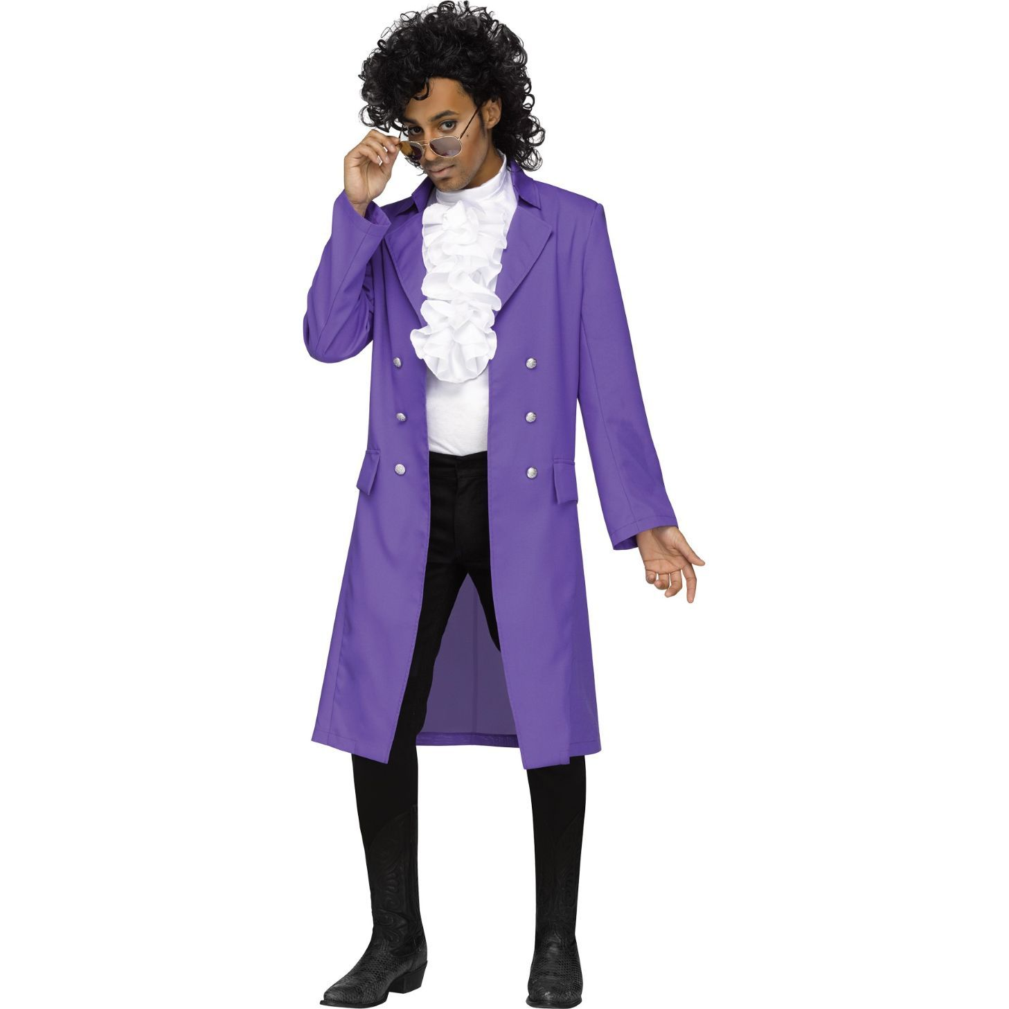 become the ultimate prince of the 80's in this purple pain costume