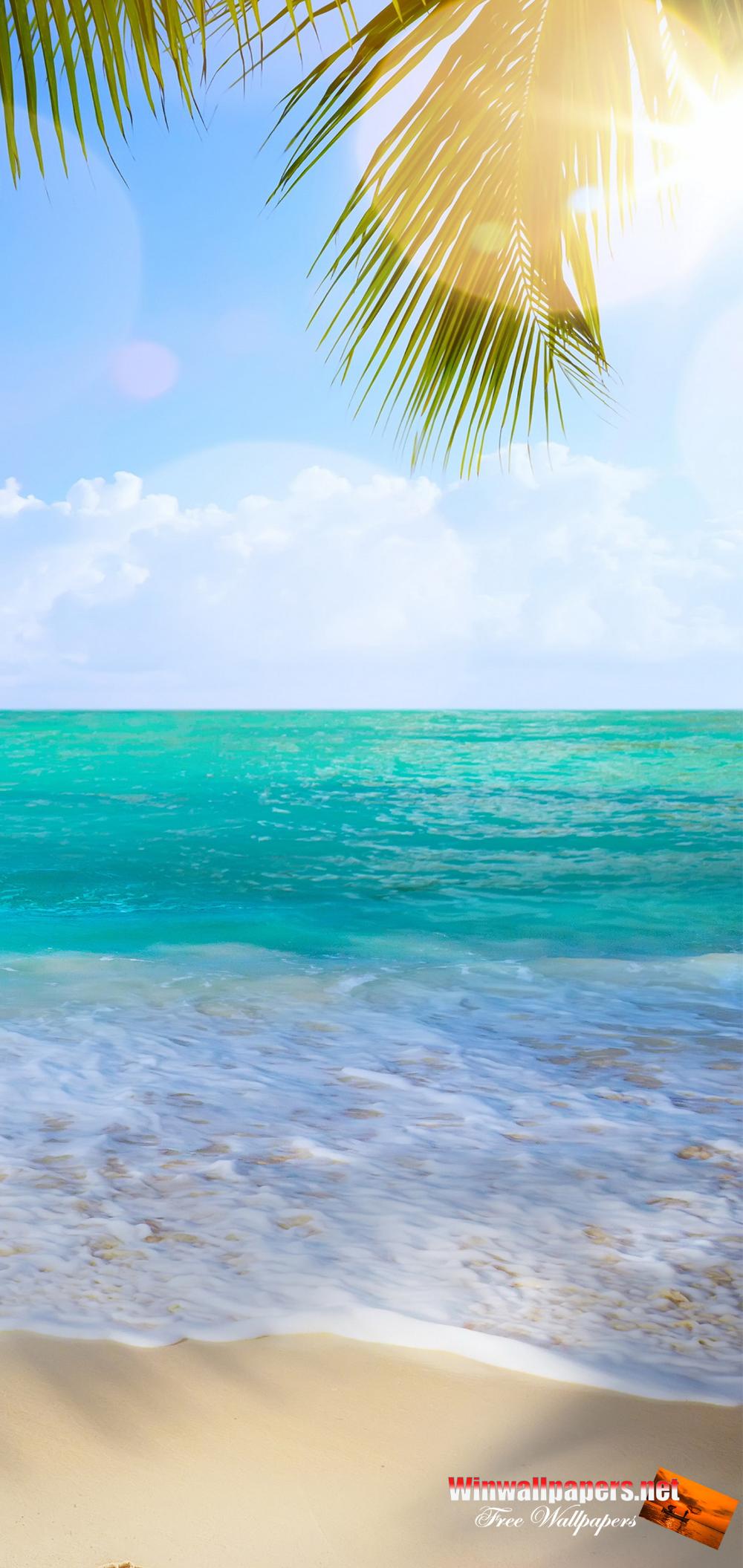 Samsung Galaxy S9 Summer Backgrounds Google Search Waves Wallpaper Landscape Wallpaper Beach Wallpaper