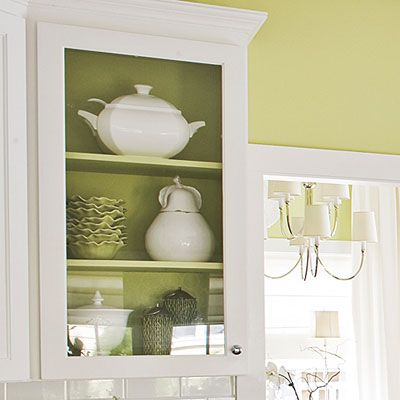 Glass Front Cabinet Placement - Design Ideas for Kitchens and Breakfast Nooks - Southern Living