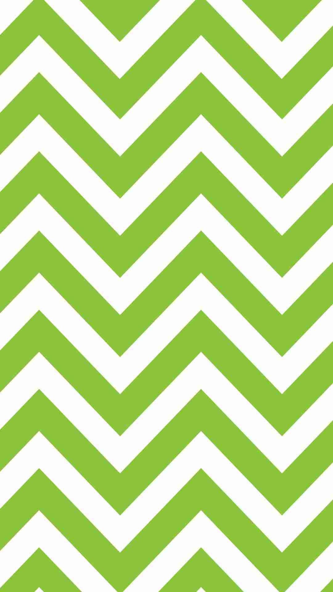Light Green Chevron IPhone 6 Plus Wallpaper