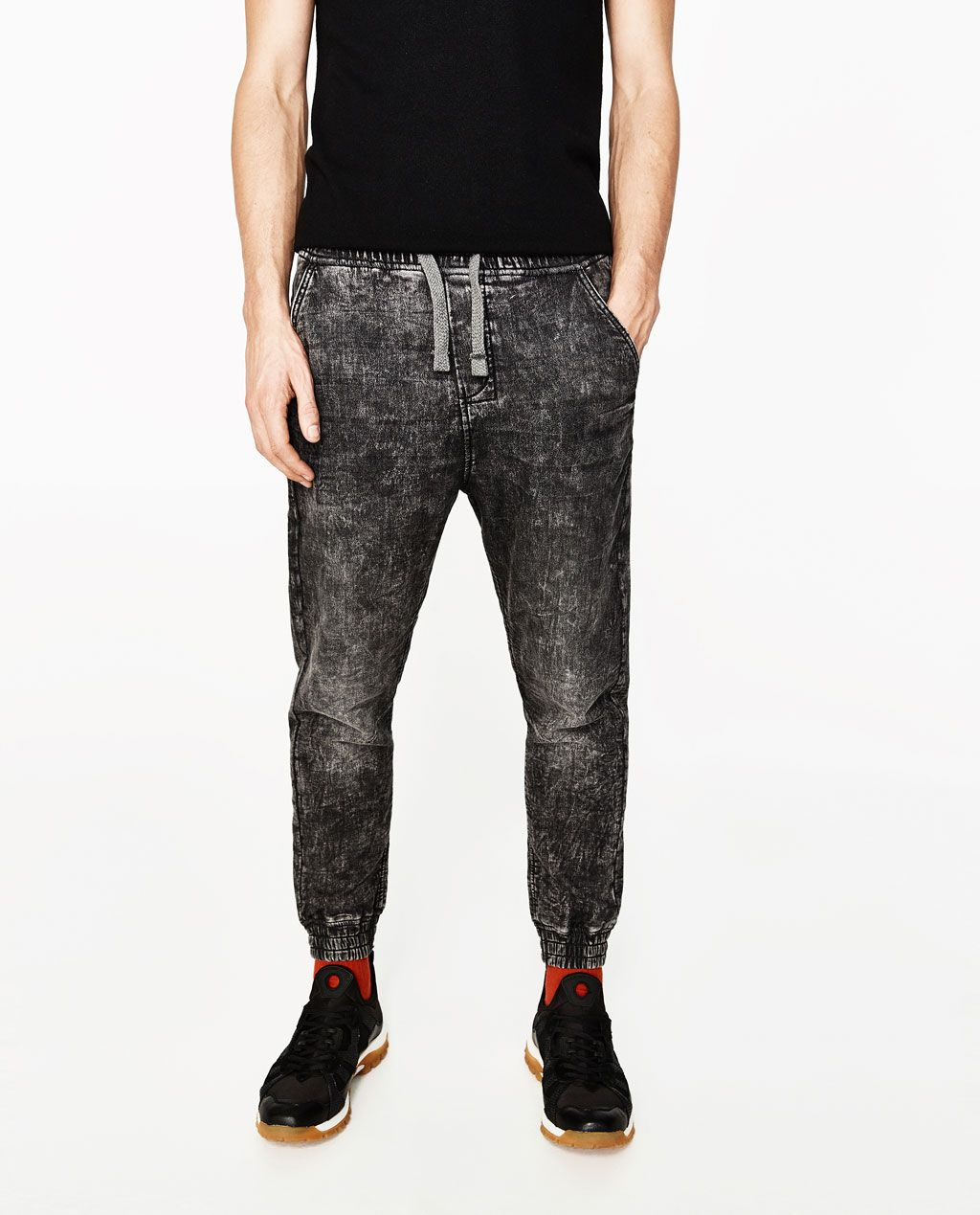 00f2b787 Image 2 of SOFT DENIM JOGGER CHINOS from Zara | Men's Urban | Denim ...