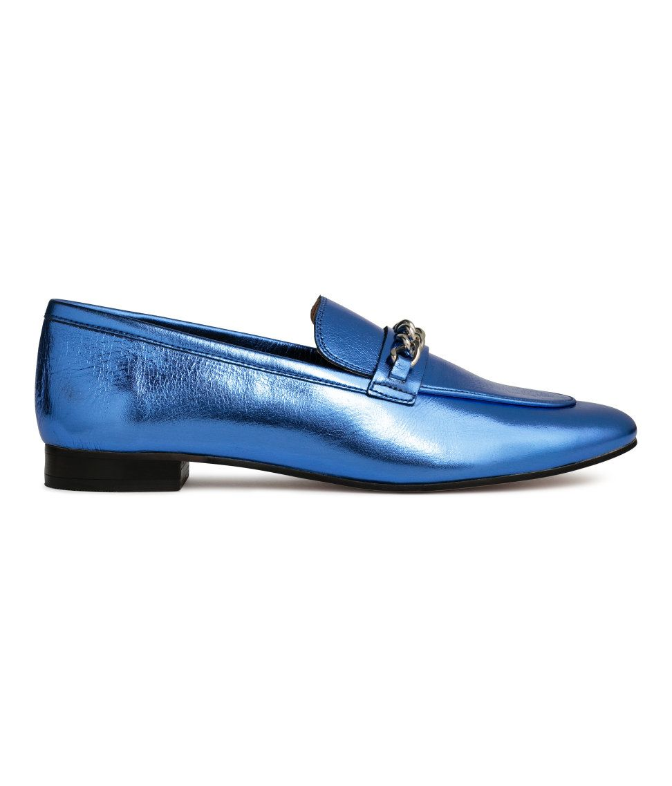 f9e9a0f3d6 Check this out! PREMIUM QUALITY. Leather loafers with a tab with metal  detail at