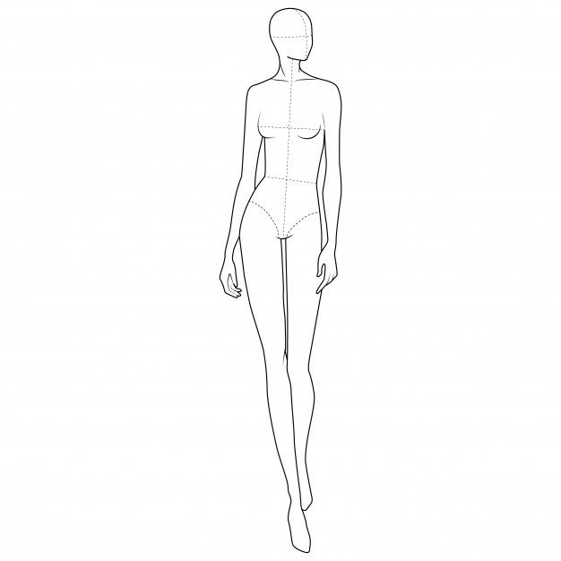 Photo of Mode Körper Figur Vorlage