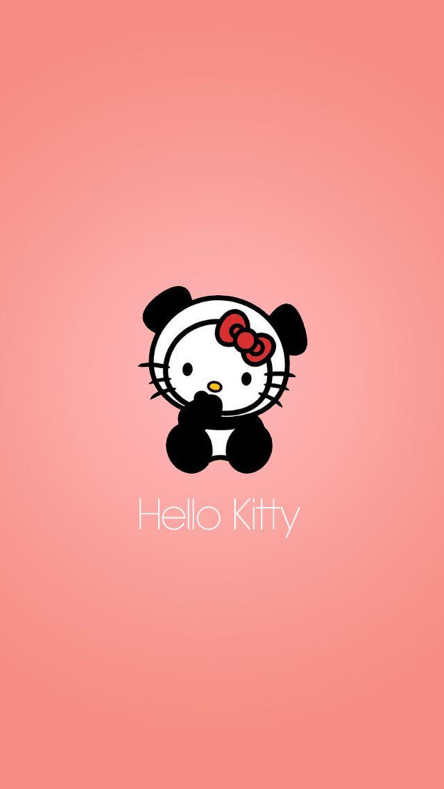 Panda Hello Kitty Wallpaper 4k Wallpaper Collections