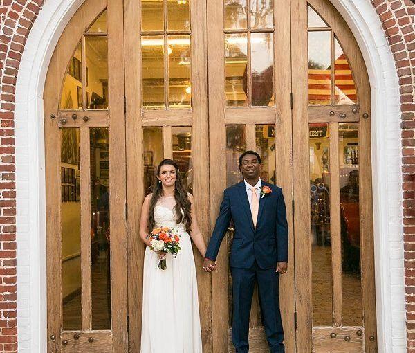 Outdoor Wedding Ceremony Orlando: Winter Park Farmers Market Outdoor Wedding