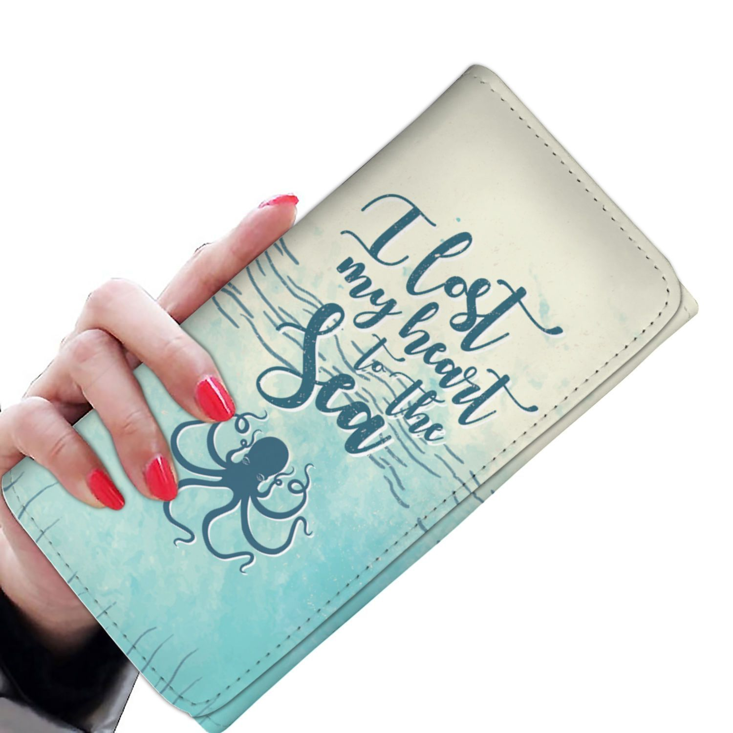 I Lost my Heart at the Sea Purse | Products | Wallets for