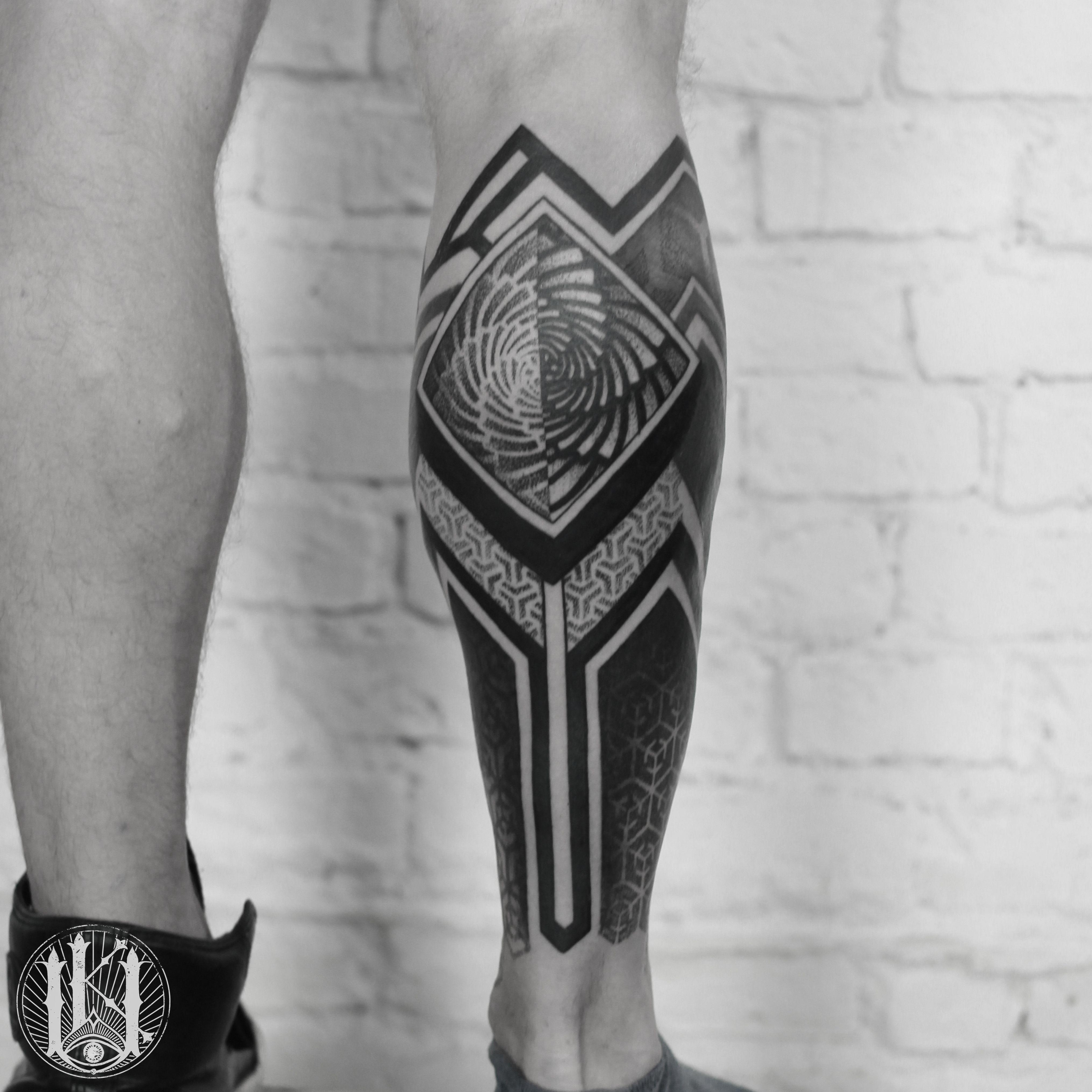 Tattoo Tatuaz Warszawa Warsaw Blackwork Mandala