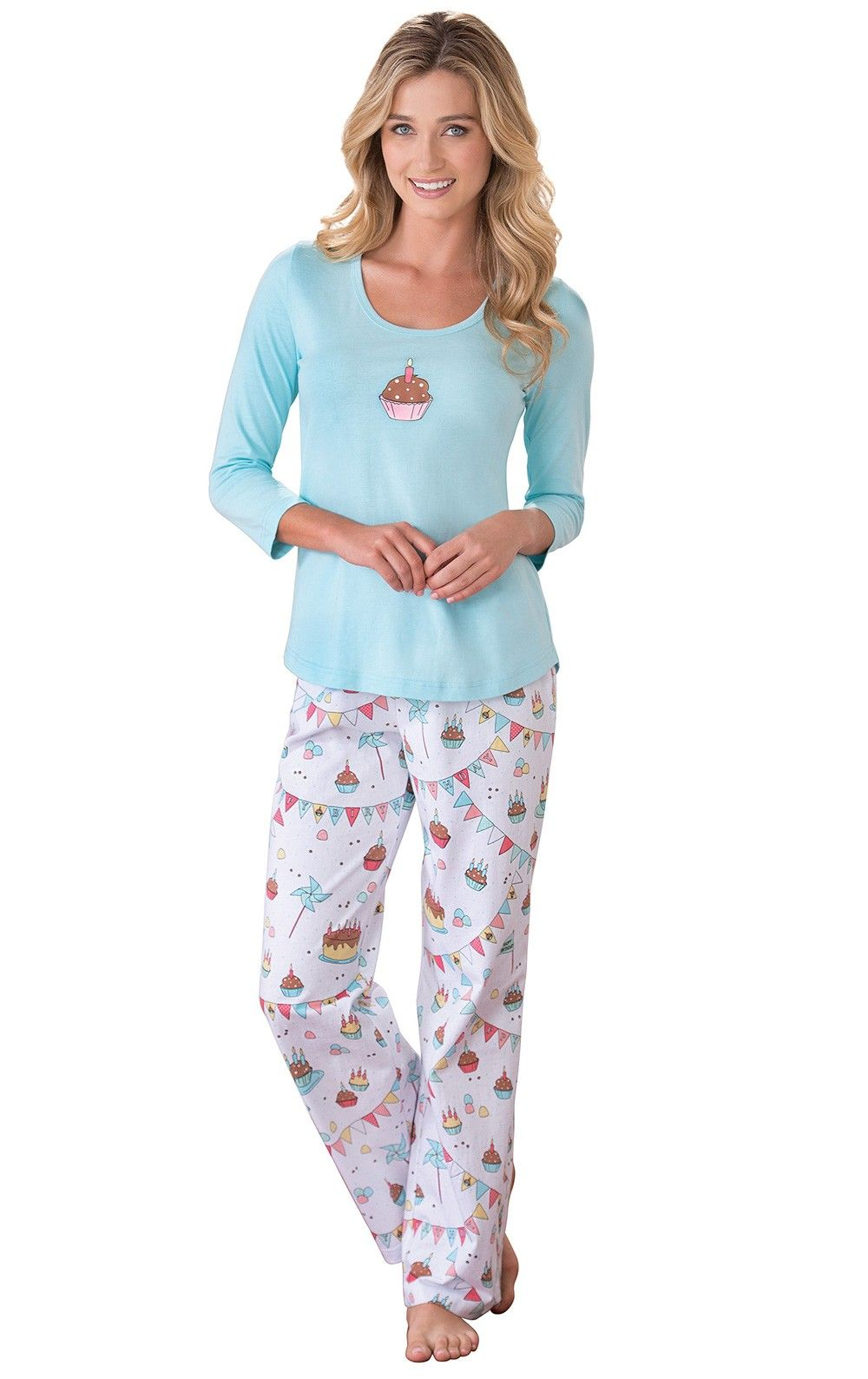 5cf2213b12 Happy Birthday Pajamas
