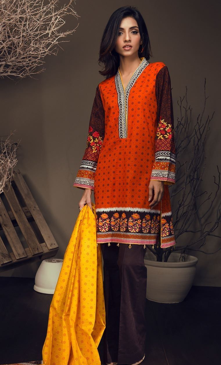 Fashion week Fashion Winter outfits offered by orient textile for woman