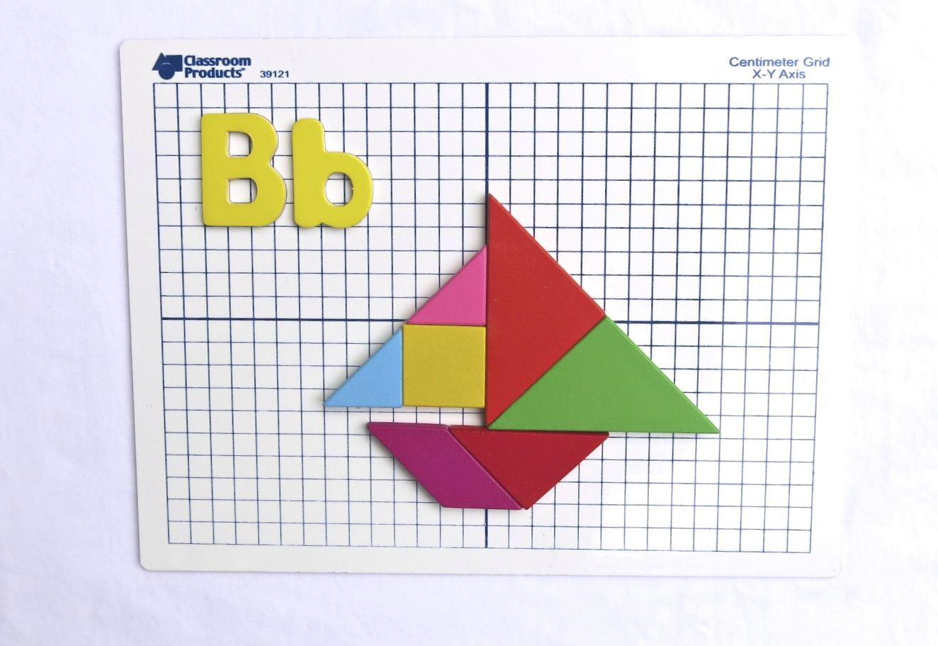 Your Favorite Letter Or Initials Created From Tangrams