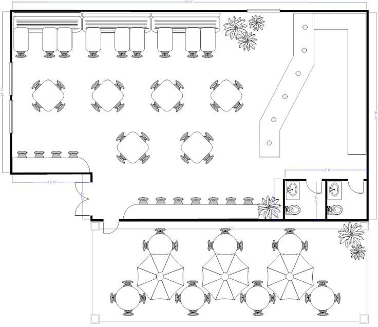 Image Result For Cafe Canteen Layout Plan  Layouttttttttt